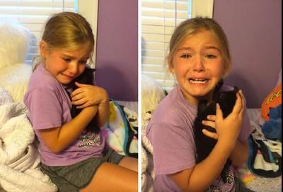 小女孩痛失爱猫 新生命让她喜极而泣…网友跟著哭翻了