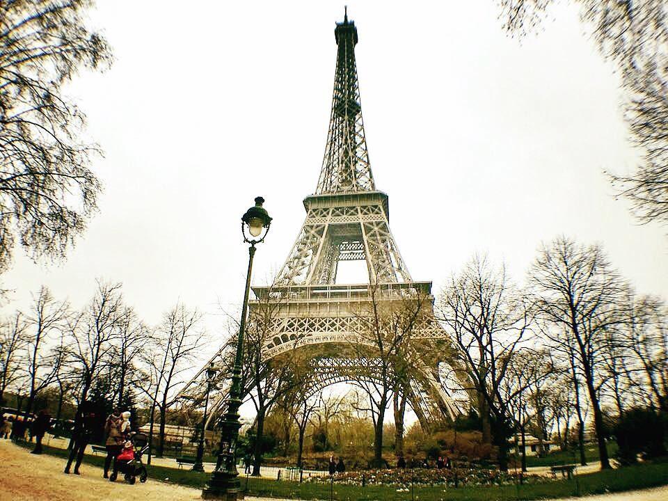 ▲法國巴黎鐵塔。(圖/記者陳亭伃攝)
