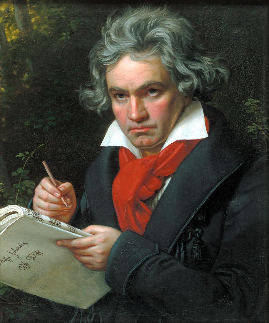 谱出贝多芬 快乐颂