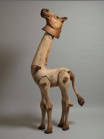 木雕艺术家陈凯智回顾展 「指鹿为马」写实动物超吸睛