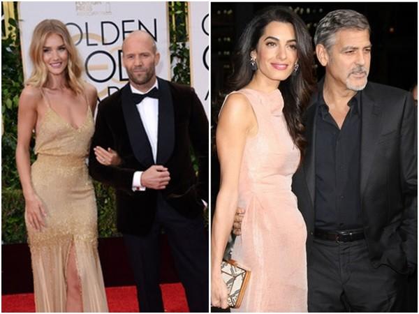 乔治克隆尼和杰森史塔森的老婆都在近期宣布怀孕.(图/达志影像)