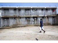 海地監獄像地獄,環境惡劣缺乏食物,囚犯普遍營養不良。(圖/達志影像/美聯社)