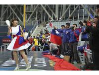 03072017 WBC世界棒球經典賽-中華VS以色列-中華隊啦啦隊(圖/記者黃克翔攝)