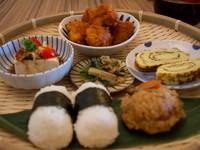 ▲開動了日本家庭料理(圖/記者陳涵茵攝)