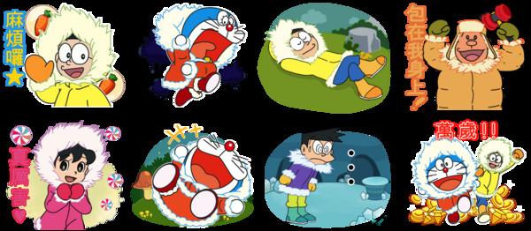 bble 2 哆啦A梦 南极大冒险 联名活动开跑图片