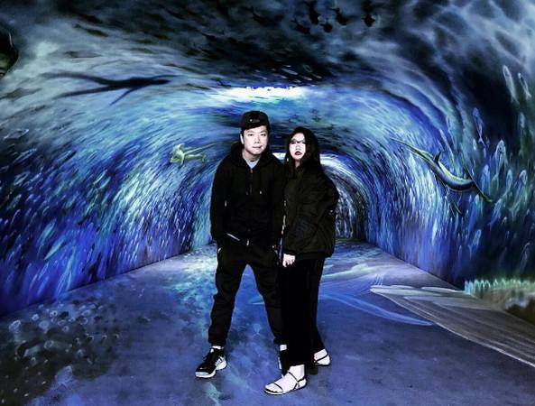 拍出海洋世界美照 全国唯一3d海底隧道在宜兰!