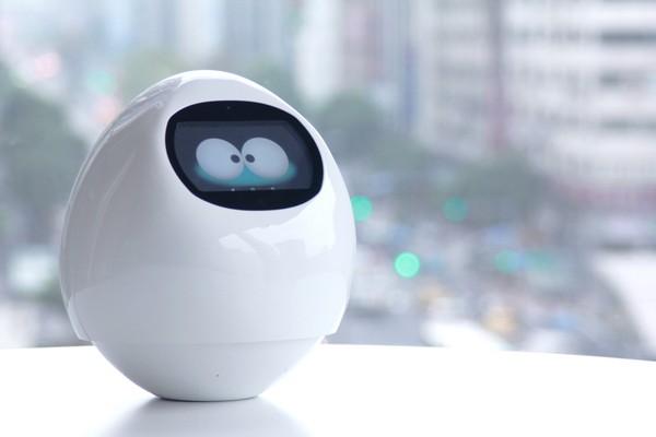 日本超可爱蛋型机器人tapia将登台 台隆抢先卖