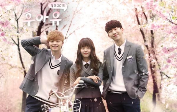 《学校2015》成功掀起话题,也让剧中演员南柱赫,金所炫,陆星材知名