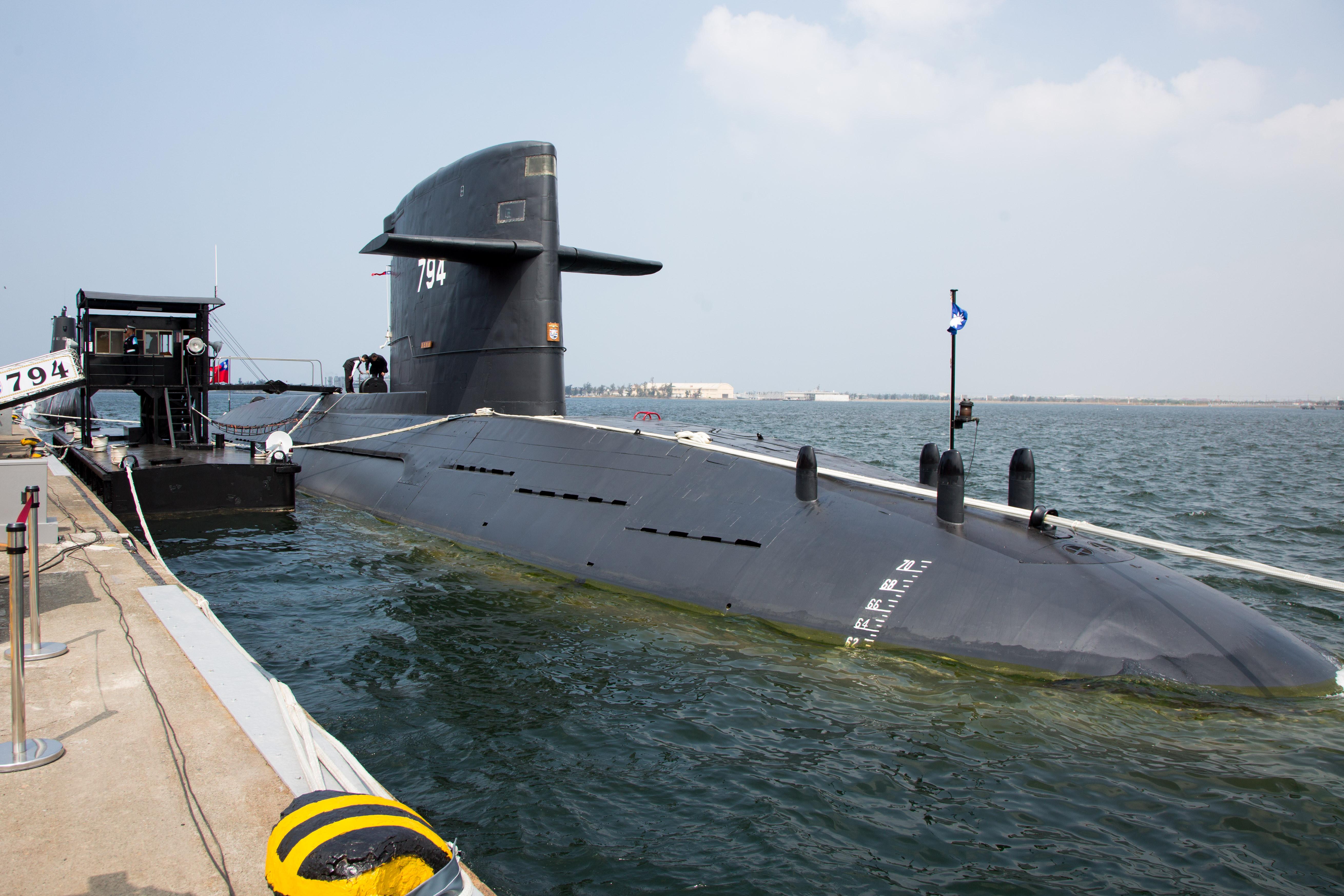 海军敦支启航欢送暨潜舰国造设计启动及合作备忘签署仪式,海虎潜舰(图