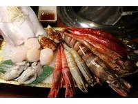 ▲甘釜京韓日燒肉料理餐點。(圖/記者華少甫攝)