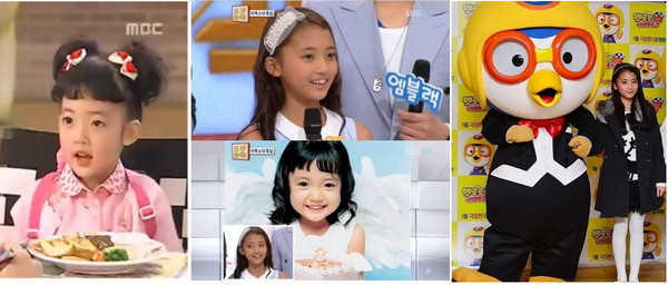 超萌!韩剧《美妙人生》童星郑多彬女孩变正妹