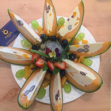 征服系蛋糕乳酪!甜点「哈密瓜表情水果」有毒的qq出蛋壳包发不浮夸图片