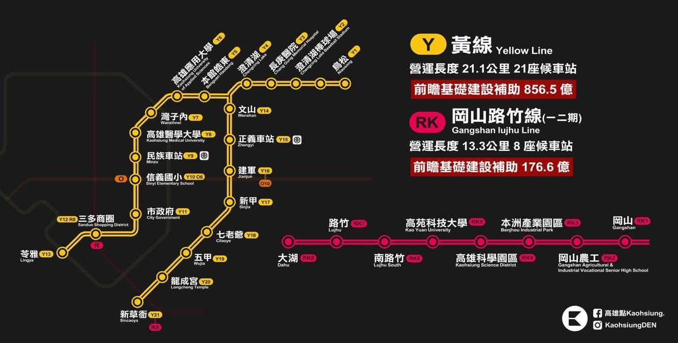 砸千億!高雄終於要有第3條捷運「黃線」 串聯人口稠密區 | 生活 | ETtoday東森新聞雲