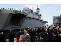 ▲日本準航母「加賀號」正式服役。(圖/路透社)