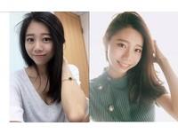 有網友在表特版分享長榮正妹空姐的照片,甜美模樣神似韓星朴信惠。(圖/翻攝自IG)