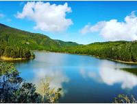 ▲翠峰湖。(圖/IG@z68899605提供,請勿隨意翻拍,以免侵權。)