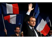 法國總統候選人馬克宏(Emmanuel Macron)。(圖/路透社)