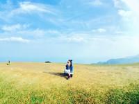 ▲桃源谷大草原碧草如茵的廣大草原,中間還有心型小池塘,宛如身處瑞士(圖/網友lj_yuan提供,下圖同,請勿隨意翻拍,以免侵權。)