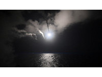 美軍空襲敘利亞,USS Porter (DDG 78),波特號驅逐艦,戰斧巡弋飛彈。(圖/路透社)