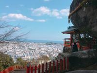 日本和歌山新宮市神倉神社(圖/記者蔡玟君攝)