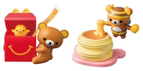 人家也要吃儿童餐!日本麦当劳推「拉拉熊玩具」敲可爱