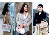 女星愛用Fendi包。(圖/品牌提供、翻攝歐陽娜娜IG、林心如臉書)