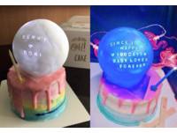 ▲近期IG上很夯的月球燈蛋糕。(圖/ohcake_tw授權使用)