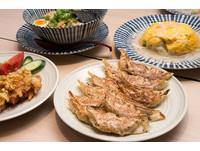 日本每日賣出200萬顆餃子的中華料理連鎖店「餃子の王將」。(圖/黃士原攝影)