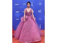 劉亦菲出席北京電影節。(圖/翻攝私服街拍微博)