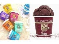 「熱量控制」冰淇淋(圖/翻攝自eatenlightened IG)
