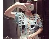 這些妹子衣服破成這樣了還在穿(圖/網路翻拍)http://www.weixinyidu.com/n_4899022