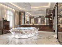 ▲杜拜豪宅裝設號稱要價3000萬元的浴缸。(圖/翻攝自propertyfinder)