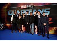 星際異攻隊2倫敦首映。(圖/路透社)