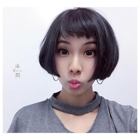 发量多起来像维京人?怪,看看这7种「厚发女全身女头短发图片