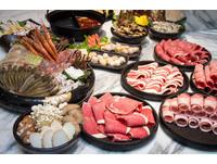 全台最大火鍋店打狗霸正式開幕 598元套餐還有鮪魚吃到飽。(圖/黃士原攝)