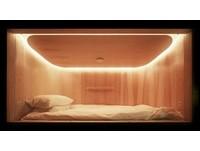 香港第一間膠囊旅館眠舍(圖/SLEEEP眠舍提供)