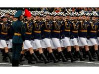 俄羅斯紀念二戰結束「勝利日」閱兵。(圖/路透社)