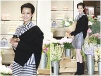 ▲賴雅妍短髮造型帥氣亮相。(圖/記者黃克翔攝)