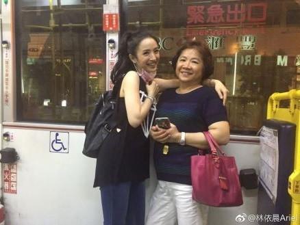 ▲林依晨母親節發文(圖/翻攝林依晨微博)