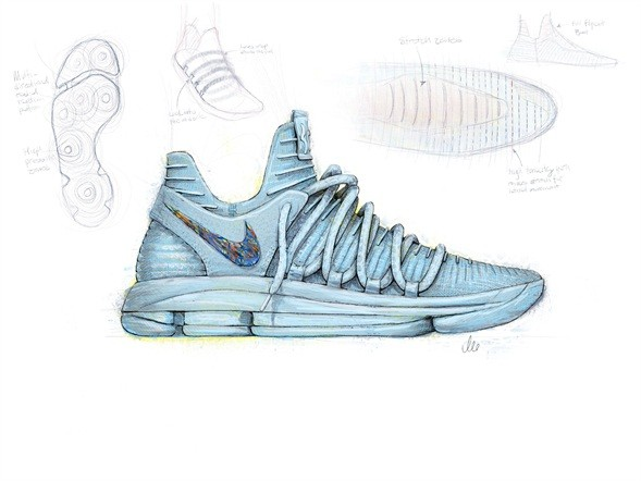 祝签约10年 Nike与杜兰特推KD10鞋款