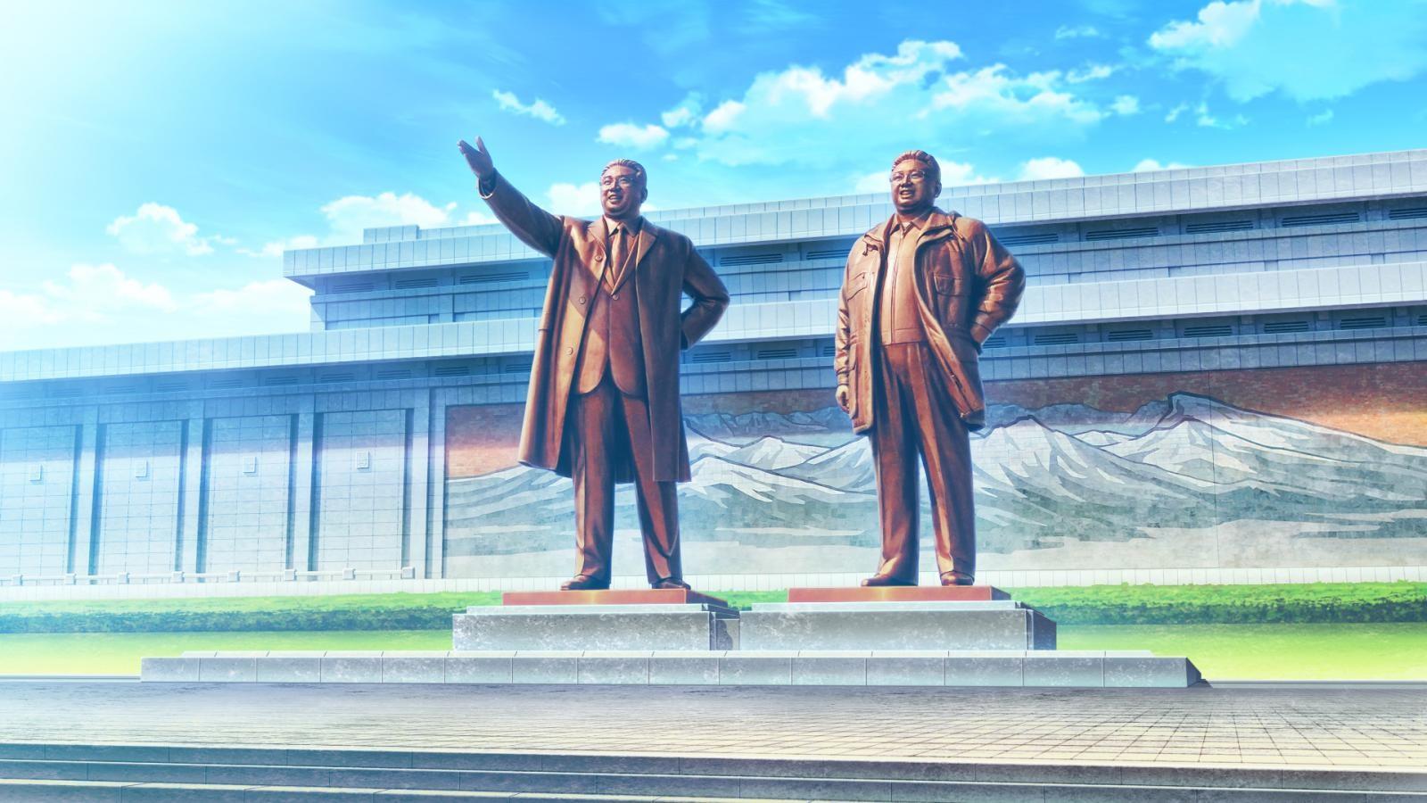 超奇葩H-GAME遊戲《北韓姊妹丼》攻略巨乳失敗就會被抓去勞改