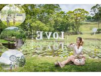青青湖畔親水花園(圖/網友滿分的旅遊札記提供,請勿隨意翻拍,以免侵權。)