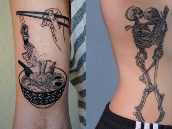 刺青 纹身 600_450