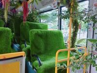 森林公車(圖/記者于佳云攝)