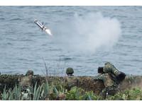 國軍「漢光33號」演習實兵演練,標槍飛彈射擊(圖/記者季相儒攝)