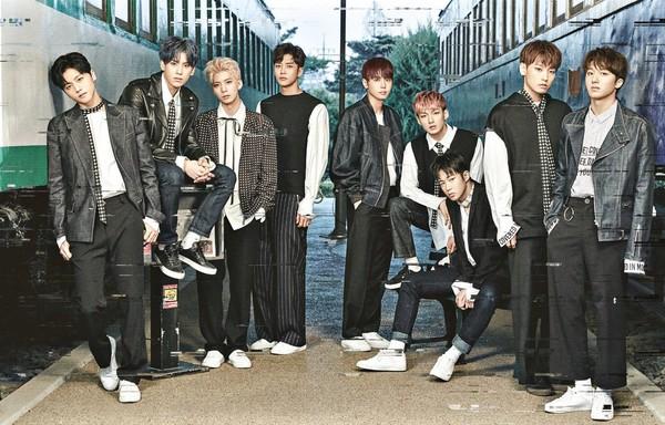 SF9翻唱「男團經典組曲」帥炸了! 7月全區擊掌會粉絲(圖/翻攝自SF9臉書、YouTube Mnet K-POP)