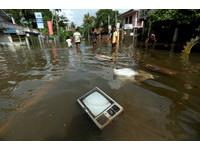 斯里蘭卡水災。(圖/路透社)