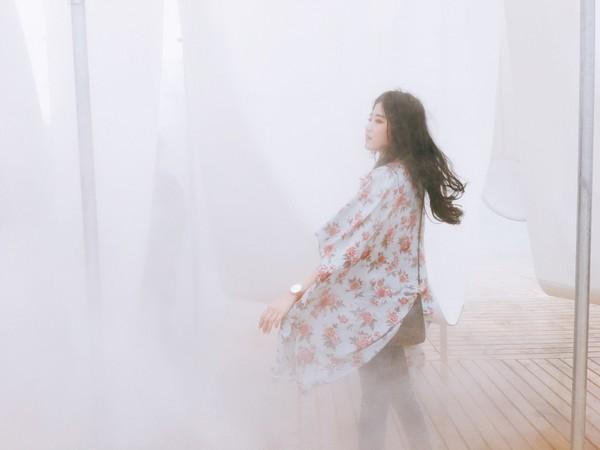 台北市立美術館當期展覽「供霧所」。(圖/網友ig zombiezora 提供,請勿任意翻攝,以免侵權,以下同。)