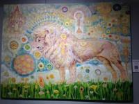 ▲樹樂集 Treellage Life Cafe及畫家布卡「星際動物」展。(圖/彭懷玉記者攝)