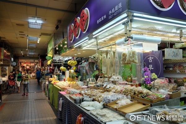 ▲顏值最高的士東市場(圖/于佳云記者攝)